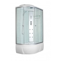 Душевой бокс Aquapulse 3106B R square white