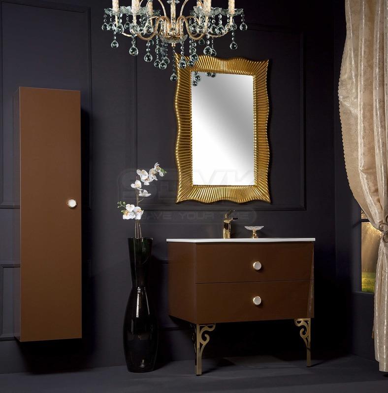 Арт мебель для ванной ванная комната дизайн бронза