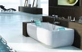 Акриловая ванна Jacuzzi Aquasoul Double Base 190x90