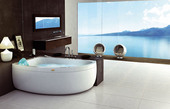 Акриловая ванна Jacuzzi Aquasoul Offset Base 150x100
