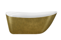Акриловая ванна Lagard Minotti Treasure Gold 170x76