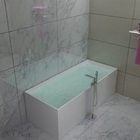 Ванна NS Bath NSB-17705