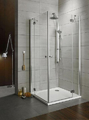 Душевой угол Radaway Torrenta KDD 100x80 graphite L