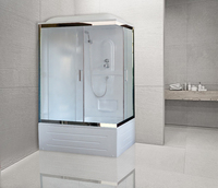 Душевая кабина Royal Bath RB 8100BP1-M-CH