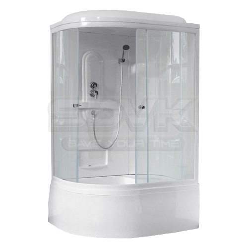 Фото Душевая кабина Royal Bath RB 8120BK1-T R