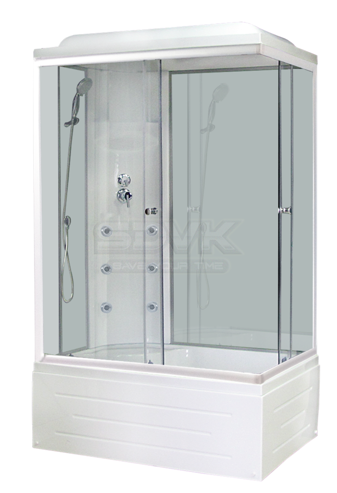 Фото Душевая кабина Royal Bath RB 8120ВР3 WT L
