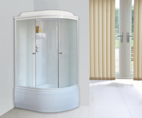 Душевая кабина Royal Bath RB8120BK4WM-L