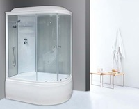 Душевая кабина Royal Bath RB8120BK4WT-L
