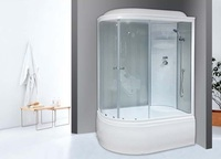 Душевая кабина Royal Bath RB8120BK4WT-R