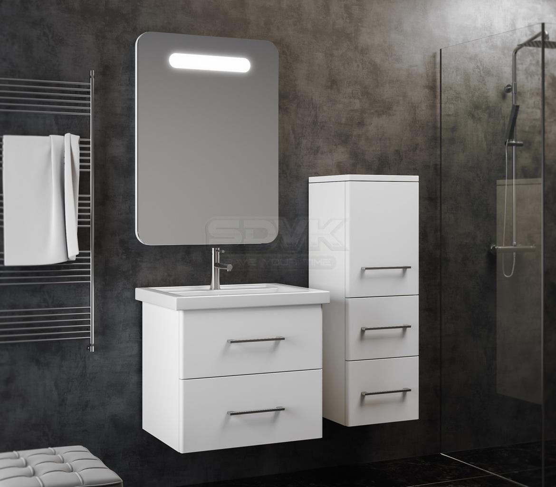 Мебель для ванной аврора 60 смеситель калория купить в новосибирске