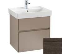 Тумба под раковину Villeroy Boch Collaro 55 oak graphite